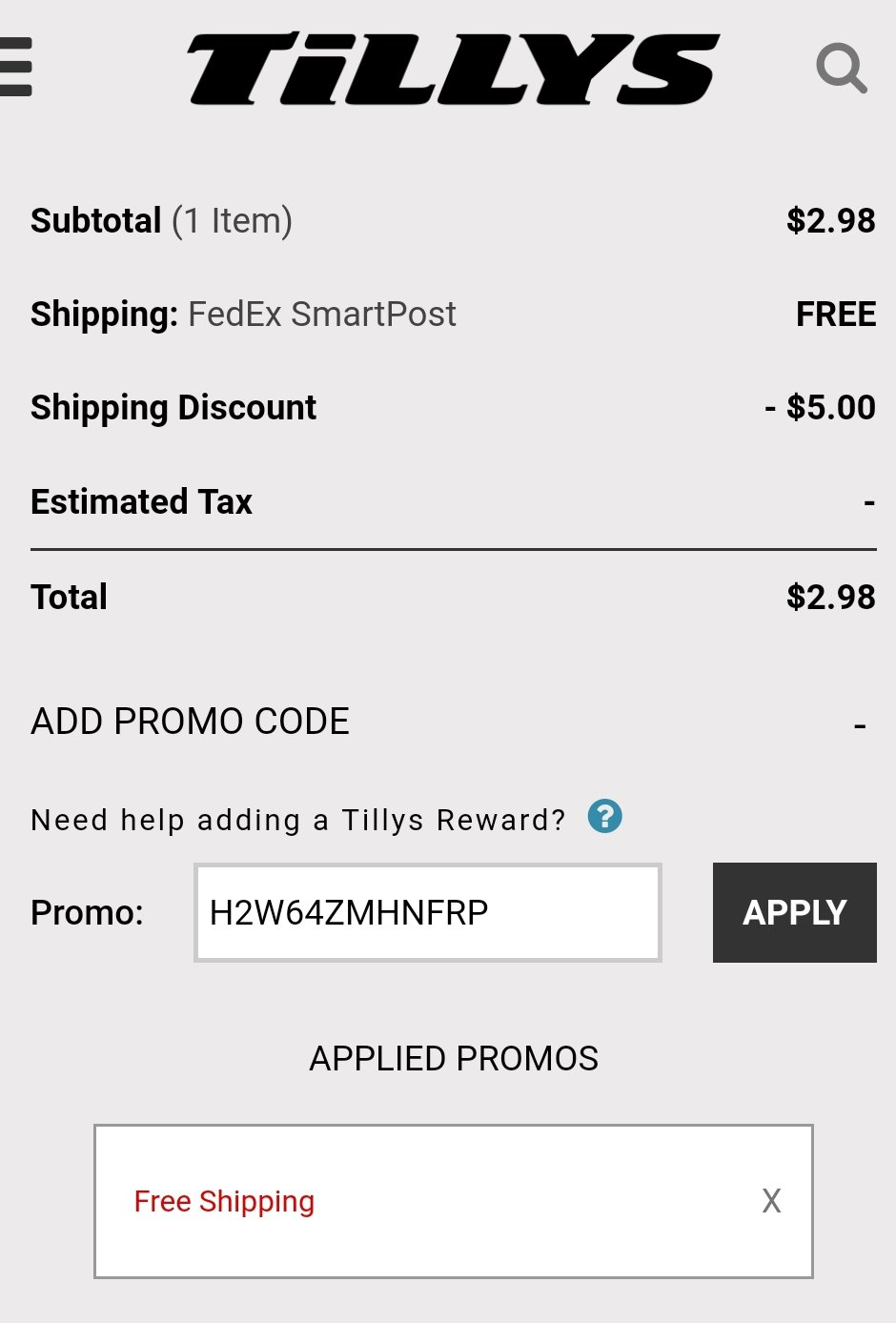 photo about Tilly Printable Coupons named Tillys Totally free Shipping and delivery + incredible clearance! Celebration with Coupon codes